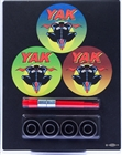 YAK ABEC5 - 4 BEARING CLAMPACK WITH BEARING REMOVAL TOOL