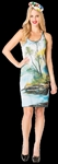 Bob Ross Woman's Tank Dress Costume