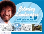 New! Coloring Landscapes with Bob Ross---Coloring Book