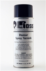Bob Ross Damar Spray Varnish 11 oz