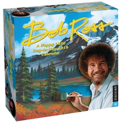Bob Ross 2019 Day-to-Day Calendar