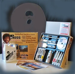 Bob Ross Rural America Paint Set with Extras  (U.S. 48 States Only)