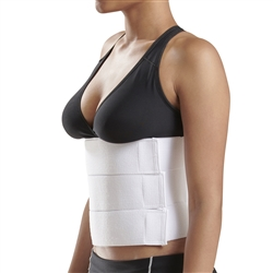 9 inch Abdominal Binder with split panles