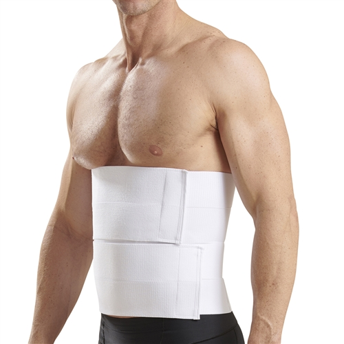 12 Inch Abdominal Binder With Split Panels Ab4s2