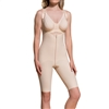 1st Stage Girdle with Suspenders, Open Buttocks, & Knee Length Legs