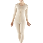 1st Stage Bodysuit with Bra, Reinforced Abdominal Panel, 3/4 Length Sleeves, and Long Legs