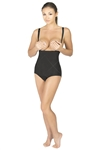 High Waisted Shaper with No Leg Coverage & Reinforced Abdominal Panel