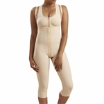 1St Stage Girdle with Suspenders, High Back & Mid Calf Leg Coverage