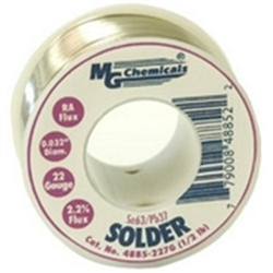 MG Chemicals 4885-227G 1/2lb Roll Solder