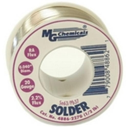 MG Chemicals 4886-227G 1/2lb Roll Solder