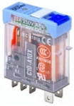 Releco C10A10X/12DC Relay 12VDC with LED