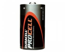 """D"" Cell - Duracell Procell PC1300"