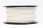3D Printer Filaments - White PLA (1.75mm dia) 1kg Spool