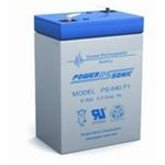 PS-Series SLA Battery 6 Volt 4.5 Amp Hour