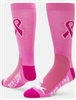 Pink Cure Crew Sock by the dozen