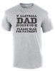 Volleyball Dad Tee