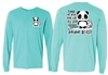 Volleyball Panda  Long Sleeve