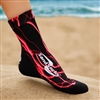 Red Lightning Sand Sock