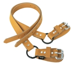 "Weaver 26"" Lower Leather Straps"