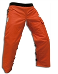 Orange Chainsaw Kevlar Chaps