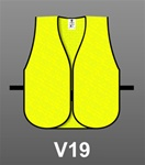 Safety Vest General Purpose Mesh Lime