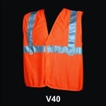 Safety Vest Class 2 Orange