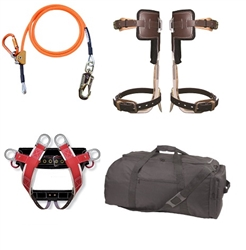 Entry Level Spur Kit w/ Wide Back Harness