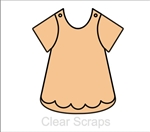 Girls Bib Dress Chip Album