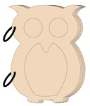 Chipboard Owl Album