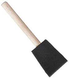 1.0 inch foam brush disposable