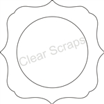 Small Circle Deco Frame