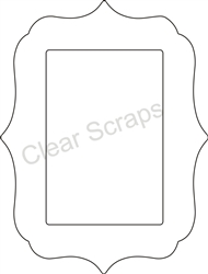 Small Rectangle Deco Frame