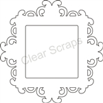 Small Square Fancy Frame