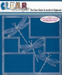 Dragonflies 12x12 Acrylic Layout