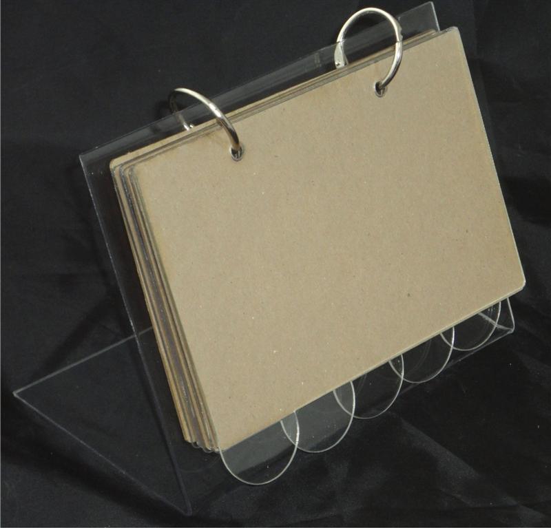 "Acrylic Recipe Stand 4""x6"" Kit"