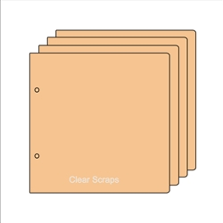 "BIYW Regular chipboard 9.0"" x 11.0"""