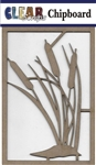 Cattails Chipboard Embellishments