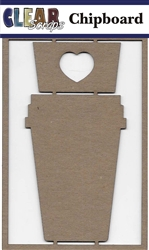 Coffee Mug  Chipboard Embellishments