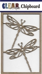 Dragonflies Chipboard Embellishments