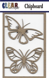 Fancy Butterflies Chipboard Embellishment