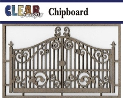Fancy Gate Chipboard Embellishments