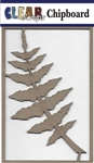 Fern Branch Chipboard Embellishments