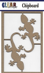 Geckos Chipboard Embellishments