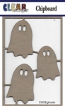 Ghost Chipboard Embellishments