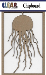 Jellyfish Chipboard Embellishments