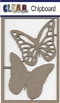 Monarch Butterfly Chipboard Embellishments