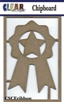 Ribbon Chipboard Embellishments