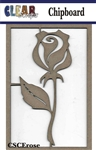 Rose Chipboard Embellishments