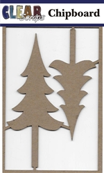 Tall Trees Chipboard Embellishments
