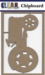tractor  Chipboard Embellishments